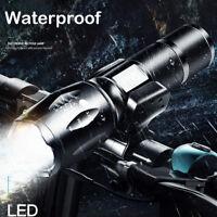 Genuine 5Zoom Cycling Bicycle Bike LED Flashlight Torch Headlight Battery Holder