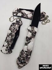 ☆ Totenkopf-Messer Taschenmesser Klappmesser Neu Top Angebot ☆