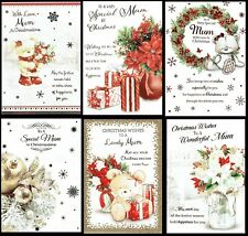 MUM ~  Quality CHRISTMAS CARD - Great Choice of Designs