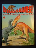 DINOSAURS MAGAZINE - ORBIS  - Play and Learn - Issue 6 - Iguanodon