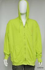 Nwt Ralph Lauren POLO Mesh Cotton Full Zip Hoodie Jacket Sweater Top Green 2XB