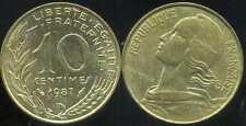 FRANCE FRANCIA  10 centimes 1987 marianne  ( bis )
