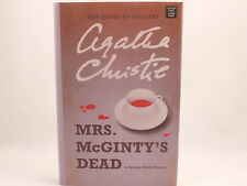 NEW! Mrs. McGinty's Dead by Agatha Christie. A Hercule Poirot Mystery