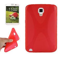 TPU Case X-Design Anti Rutsch in rot Schutzhülle für LG F300L Optimus Vu 3 Cover