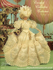 Paradise Vol 101, 1895 Lace and Angels County Fair Costume crochet patterns