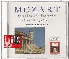 Mozart Symphonies 40 & 41 Jupiter [CD] Barenboim Daniel (1278) neuf edition 1988