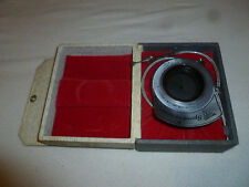 VINTAGE SPEEDIOSCOPE SPEED-I-O-SCOPE SHUTTER LENS SVE SERIES TACHISTOPSCOPE CASE