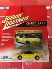 2002 Chevy Monte Carlo Johnny Lightning Classic Gold Coll.