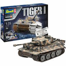 Tiger I Geschenkset 75 Jahre Bausatz 1:35 Deutscher Panzer Modell Revell 05790