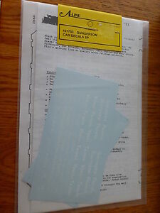 A-Line HO #27703 Twin-Stack Car Decals -- Southern Pacific (red car)