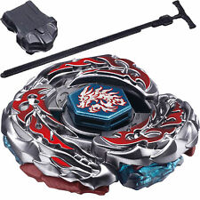 Beyblade Metal Fusion Masters+Professional Black Power String Launcher Kids Gift