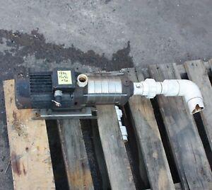 "GRUNDFOS CH4-60 A-A-CVBE multistage centrifugal pump 5 m³/h 44502106 DN25 1"""