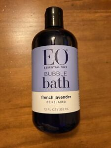 """Essential Oils EO French Lavender Bubble Bath """"Be Relaxed"""" 12 fl oz"""