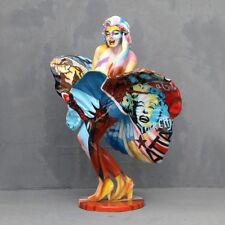 SEXY ACTRESS flying skirt Resin Figure statue Marilyn Monroe figurine POP ART