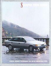 Auto Brochure - Ford - Scorpio Tour Guide - Jackie Stewart  (AB977)