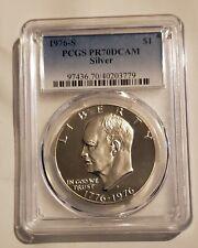 1976-S Silver Eisenhower Dollar PCGS PR70DCAM