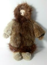 Heritage Canadian Baby Boy Doll Beaver Fur Coat Leather Shoe Vintage Collectable