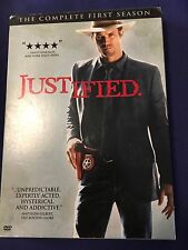 Justified The Complete First Season Region 1
