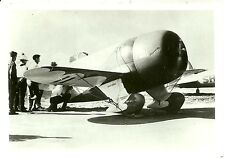 """GEE BEE #11 - 5"""" X 7"""" BLACK & WHITE GRANVILLE RACING AIRPLANE PHOTOGRAPH"""