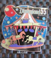 Disney DLR 55th Anniversary Cast POM 2010: Retro King Arthur Carrousel Pin