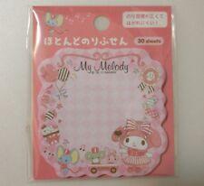 Kawaii sanrio MY MELODY sticky notepad memo pad post its 30 sheets