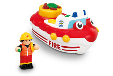 WOW TOYS Fireboat Felix Bath Toy for 1yrs+ in Hassle Free, Eco-Box