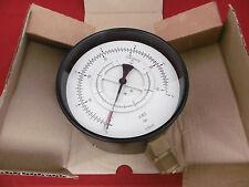 VDO Differenzdruck Manometer 0-6bar 2xG1/2A Ø160 mm 2635.074.001