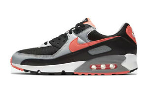 Nike Air Max 90 Men's Size 11 - Black / White / Wolf Grey / Radiant Red New DS!
