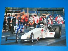 COURTNEY FORCE NHRA DRIIVER SIGNED 8X12 PHOTO coa JOHN FORCE BRITTANY FORCE