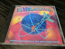 Don't Stop...Planet Rock [EP] by Afrika Bambaataa, Fast Shipping, Tommy Boy CD