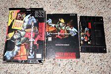 Killer Instinct (Super Nintendo Entertainment System SNES, 1995) Complete FAIR H