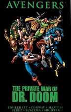 PRIVATE WAR OF DR DOOM AVENGERS 150 - 156 & ANNUAL 6 GRAPHIC HARD COVER