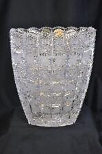 Bohemia Hand Cut Crystal Vase (SHI*)