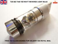100w Super Bright W21W 582 7440 Cree Led Smd Reverse Light Lamp Bulb White 8000k