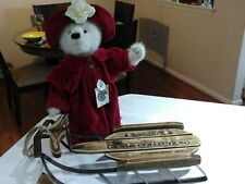 """Boyds Bears Francesa LaFlame 912026 White Bear Red Hat/Cape Retired 16"""" W/Tags"""