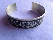 Armband/Armreif aus Edelstahl mit Emaille - GothicStyle