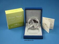 Frankreich 2007 1,5 Euro Silber Pont Neuf proof PP