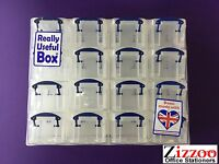 16 DRAWER REALLY USEFUL BOX ORGANISER GREAT FOR CRAFT ART AND DIY ETC
