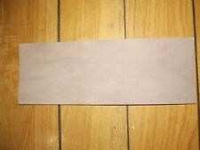 KANGAROO tail LEATHER VEG TANNED NATURAL 1 @ 280 x 100mm- wallet case strop band