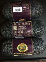 Yarn Lion Brand Homespun Acrylic/Poly 98/2 Bulky5 185 Yards 3 Skeins 6oz