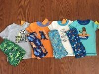 Boys Gymboree Summer Pajama Gymmies Free Ship 2Pc 18-24 Mos U Pick NWT Discounts