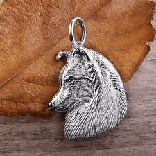 Sterling Silver SHETLAND SHEEPDOG (SHELTIE) Pendant or Charm