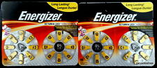 Energizer Size 10 Hearing Aid Battery Exp Jan 2018 ~ 2 pk Qty 32 Batteries SZ 10