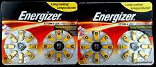 Energizer Size 10 Hearing Aid Battery Exp Jan 2018 ~ 2 pk Qty 32 Batteries SZ 10