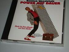 Gottlieb changeant power sur durée CD rar teldec 1988 allemand fête Musique (yz)