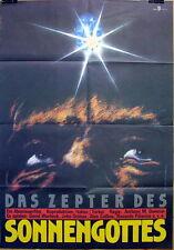 David Warbeck ZEPTER DES SONNENGOTTES original Kino Plakat DDR A1