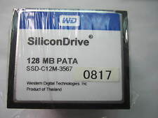 10PCS WD SiliconDrive 128MB PATA CompactFlash CF Memory card SSD-C12M-3567