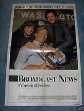 BROADCAST NEWS LOT OF 10 (1987)WILLIAM HURT 1SHEET