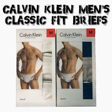 Calvin Klein underwear 3-Pack Briefs Classic Fit Breathable Cotton - NEW VARIETY