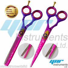 5.5PROFESSIONAL SALON HAIRDRESSING HAIR CUTTING THINNING BARBER SCISSORS SET YNR